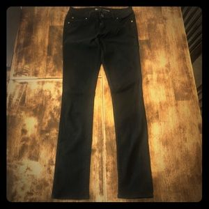Level 99 skinny straight fit black  jeans sz 29